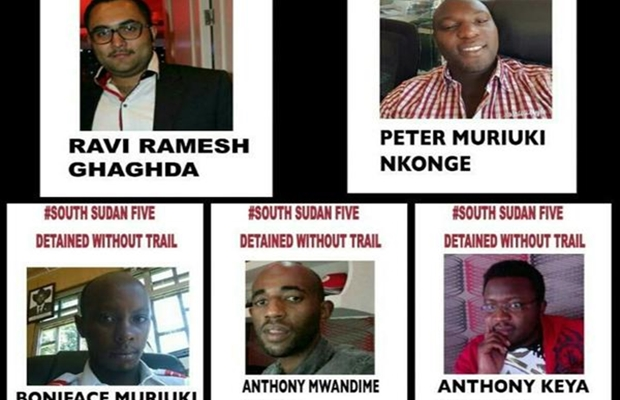 Revealed: Why 5 Kenyans are detained by national security in Juba