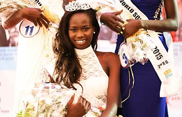 PHOTO: Miss World South Sudan departs for China