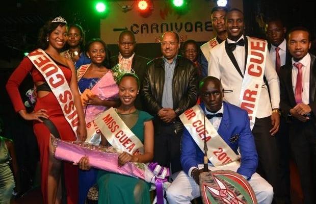 South Sudanese student wins Mr. CUEA in Kenya