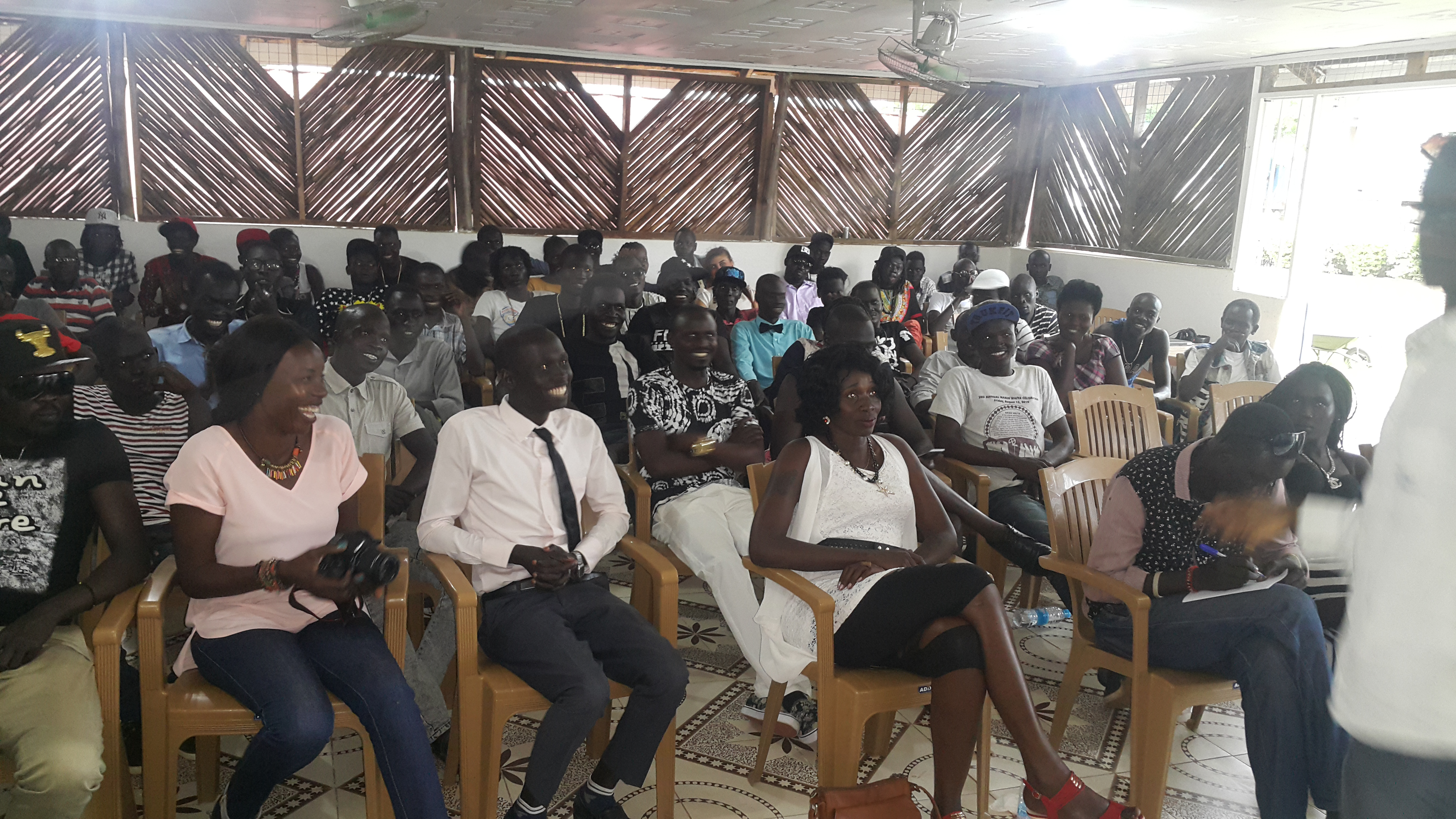 Over 50 celebrities meet for the first time in Juba [SEE PICS]
