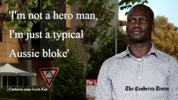 "Junubi ""hero"" saves life in Australia"