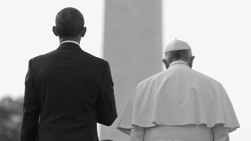 Obama's Hip Hop song with Pope Francis -Social Media made-up. [Lyrics inside]