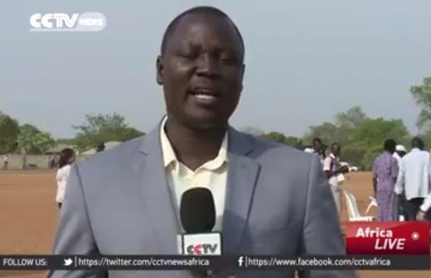 Top SSTV journalist Patrick Oyet joins CCTV Africa (VIDEO)