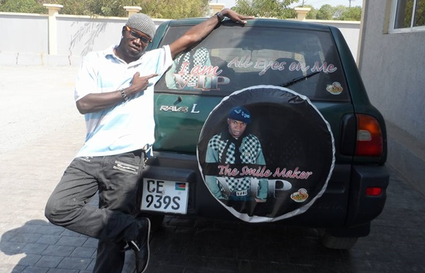 Comedian VIP buys new ride