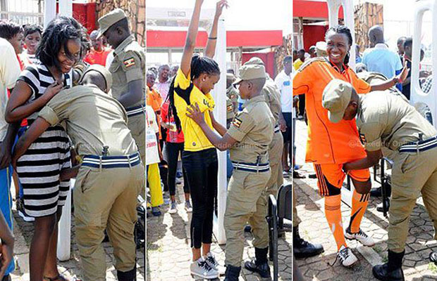 Here is how Ugandan police conduct searches
