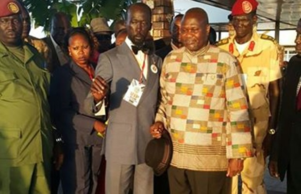 Mabior Garang humiliated at State House during Riek swearing-in ceremony