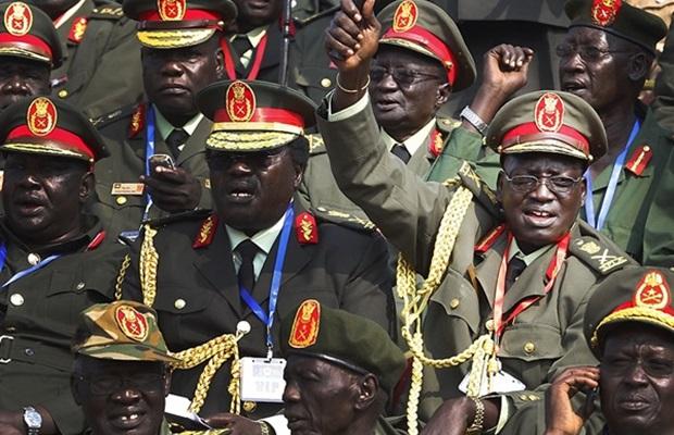 13 SPLA generals among 3000 Juba University graduates