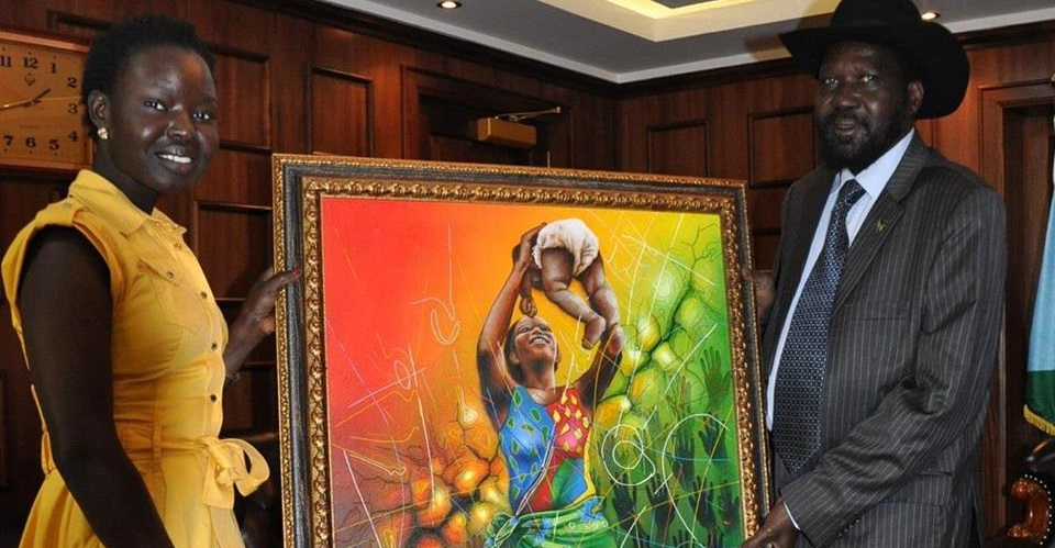 Meet the girl behind the giant painting at J1 (PHOTOS)
