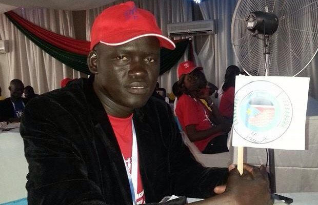 National Youth Union leader Albino Bol arrested over corruption