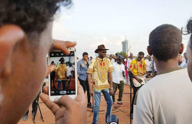 Khartoum-based Junubi musicians collabo with Sudan's top musician