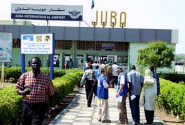 Juba international airport