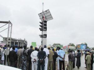 Juba streets lights