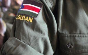 SPLA soldier