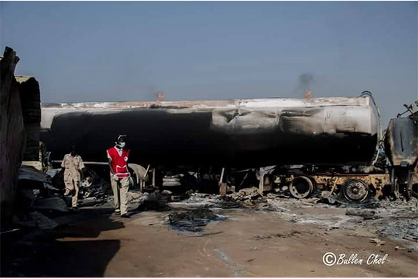 Hundreds of brothels burnt  down in Juba