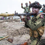 Government forces, rebels clash within weeks of peace deal