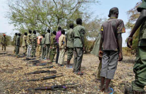 Riek Machar's child soldiers
