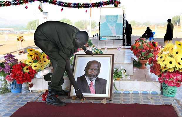 Equatoria youth want body of Dr. Garang exhumed from Juba