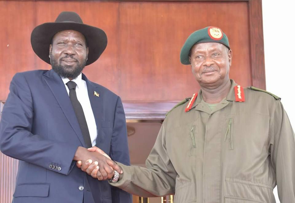 Museveni and Kiir