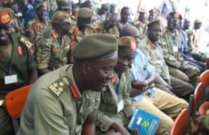 Rebel generals in Pagak