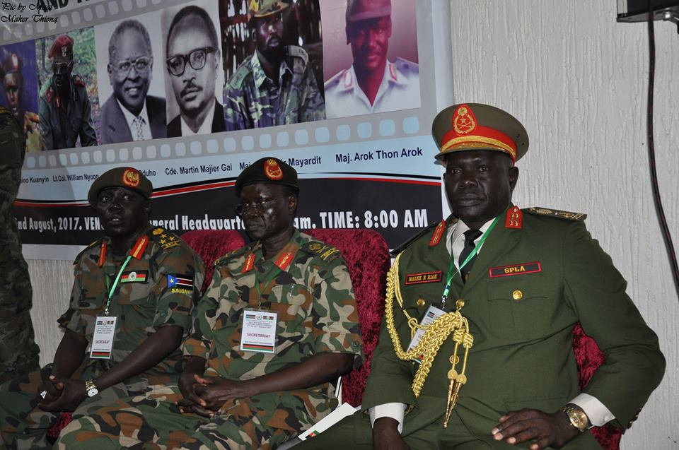 South Sudan's Chief of Defense Forces travels to China