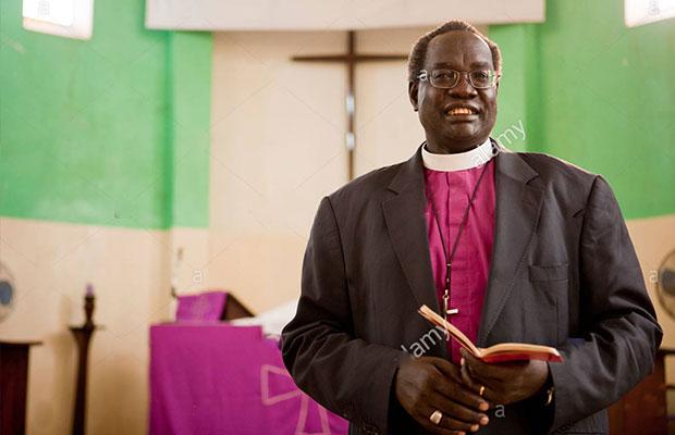 The archbishop Daniel Deng-bul