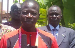 Athlete David Gonji