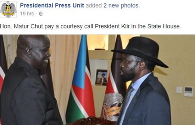 Ateny Wek finally creates official Facebook page for President Kiir