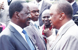 Raila and Uhuru