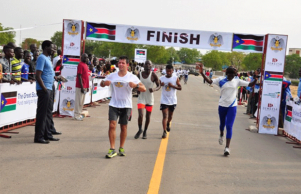 Over SSP11 Million raised in The Great South Sudan Run held in April