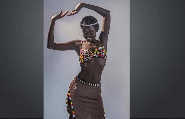 Meet beautiful Atong Dong representing South Sudan in Miss Africa (Photos)