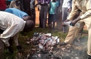 Burnt pounds in Torit