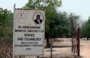 Dr. John Garang Memorial Universityn of Science and Technology