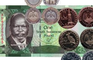 South sudanese pounds