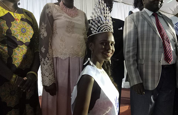 Photos: Meet the newly-crowned Miss World  South Sudan, Arual Longar