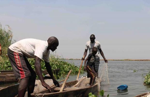 fishing in South Sudan