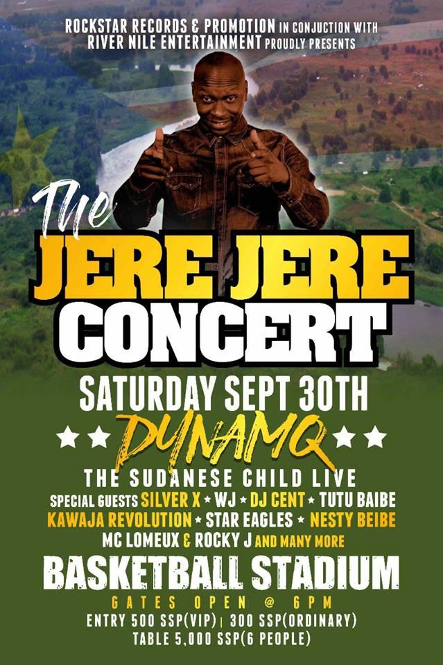 Jere Jere peace concert