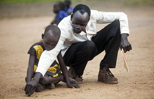 Teacher in South Sudan