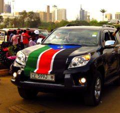 Toyota LandCruiser South Sudan