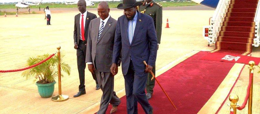 President Kiir leaves for China