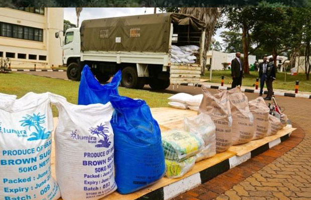 Trucks loaded with contaminated sugar en-route to Juba from Kenya