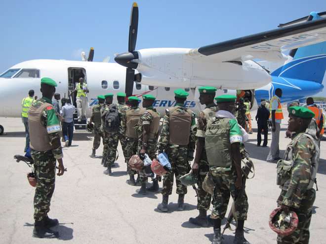 Somalia to deploy peace keeping troops to South Sudan