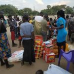 Promoter Willy, Wipe My Tears donate foodstuffs to homeless living at graveyard