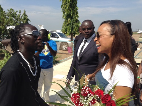 The day Silver X went crazy over Jamaican singer Alaine [Photos]
