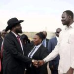 Is this South Sudan's tallest politician?