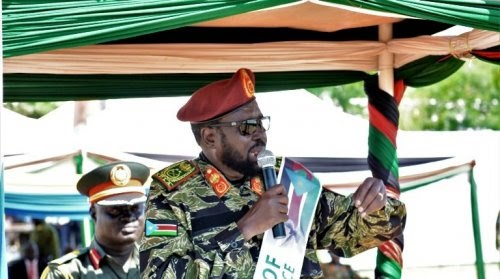 President Kiir promoted to Field Marshal