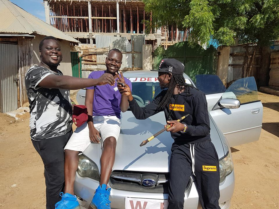 Promoter Sam gifts WJ De King with a brand new ride