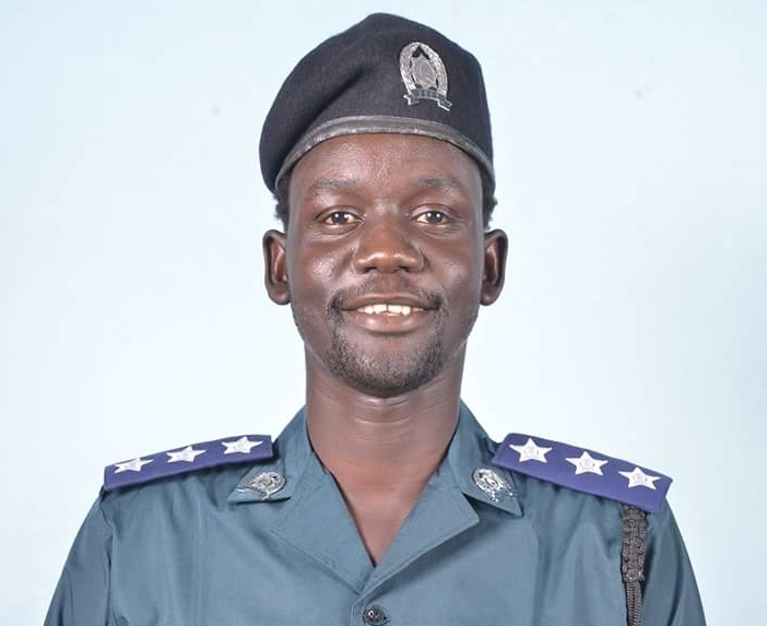 Rapper Madit Achamrap promoted to Captain at Police Service