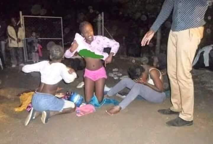 Photos: Pastor ask congregations to remove their clothes so that holy Spirit could penetrate so easily.