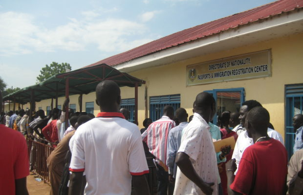 Immigration office Juba