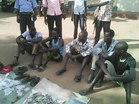 Nine notorious gangsters arrested in Torit State